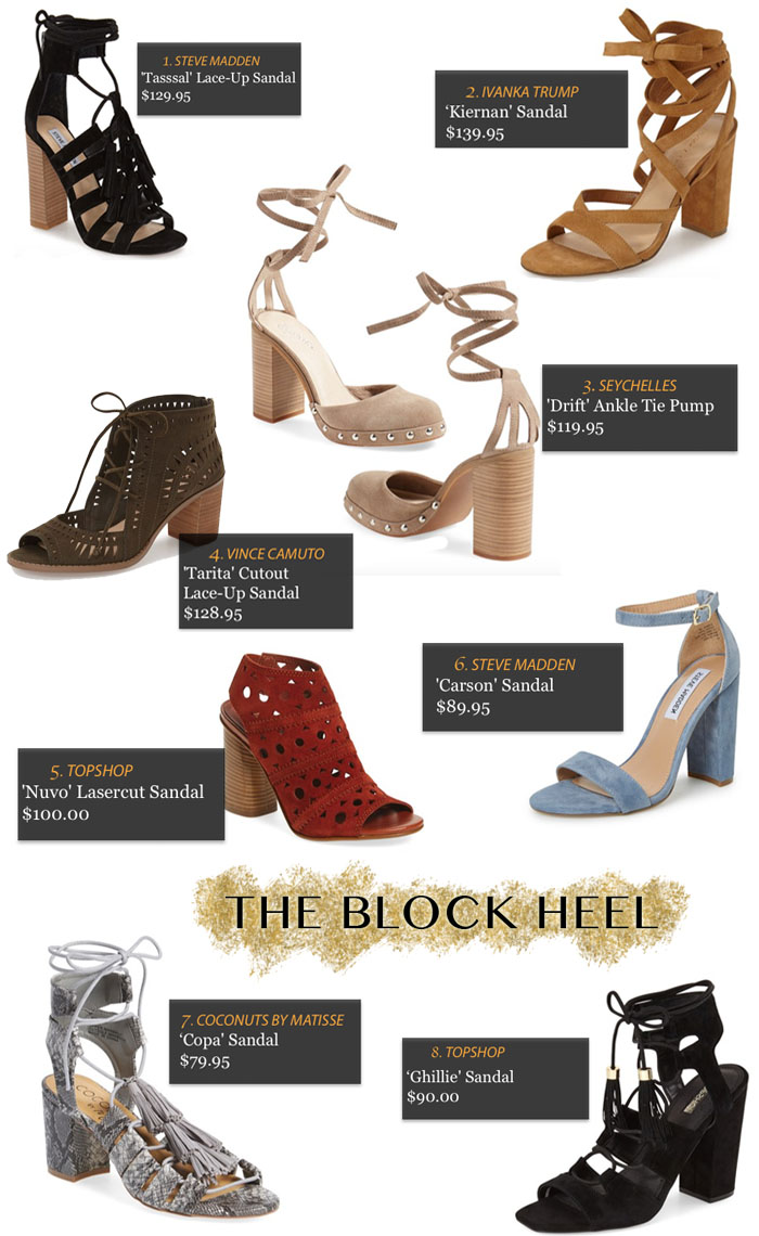 TREND ALERT: THE BLOCK HEEL